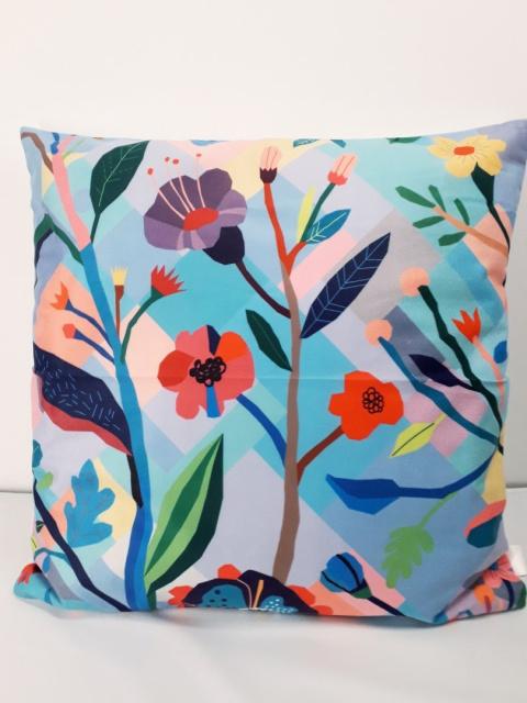 Poszewka Dekoracyjna 40x40 Kolorowe Kwiaty